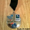 Houston Double Finisher Medal 2014