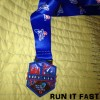Houston Marathon Medal 2014