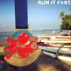 Maui Oceanfront Marathon Medal 2014