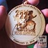 Cummins Falls Marathon Medal – 2014 – Run It Fast