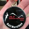 Osmotherley Trail Half Marathon Medal 2014