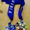 Texas Half Marathon Medal 2014