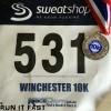 Winchester 10K Medal 2014