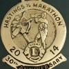 Hastings Half Marathon Medal 2014