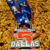Rock n Roll Dallas Half Marathon Medal 2014