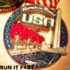 Rock n Roll USA Marathon Medal 2014