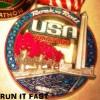 Rock n Roll USA Marathon Medal 2014