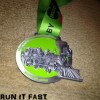 Tobacco Road Marathon Medal 2014