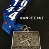 Winter Blast Half Marathon Medal 2014