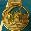 Copenhagen Half Marathon Medal 2014