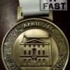 Taunton Half Marathon Medal – 2014 – Run It Fast