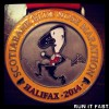 Blue Nose Marathon Medal 2014