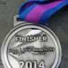 Bupa Great Manchester Run 10K Medal 2014