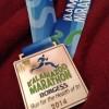 Kalamazoo Marathon Medal 2014