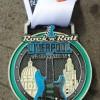 Rock n Roll Liverpool Half Marathon Medal 2014