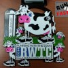 Running with the Cows Half Marathon Medal – 2014 – Run It Fast