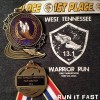 Warrior Run Half Marathon Medal 2014