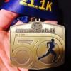 Calgary Half Marathon Medal 2014