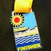 Cincinatti Half Marathon Medal 2014
