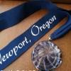 Newport Marathon Medal 2014