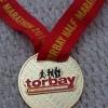 Torbay Half Marathon Medal 2014