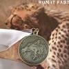 Dragonfly Jackal Marathon Medal 2014