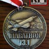 Air Force Half Marathon Medal Demark cu 2014 – Run It Fast
