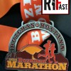 Bozeman Marathon Medal – 2014 – Run It Fast