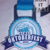Newry Oktoberfest Medal 2014 – Run It Fast