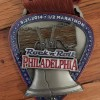 Rock n Roll Philadelphia Half Marathon Medal 2014 – Run It Fast