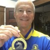 Robin Robbins with 2016 Boston Marathon Medal