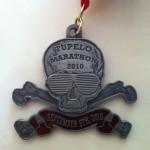 Tupelo Marathon Bling (2010 Finishers Medal)