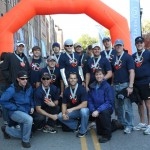 Bumpshack Racing  Finish Line Photo (Ragnar Relay TN 2010)