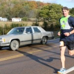 Chris Estes Running Up Mt. Eagle (Ragnar Relay TN 2010)