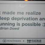 RR Sign (Ragnar Relay TN 2010)
