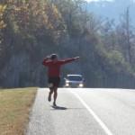 Brandon Piacine Climbing Mt. Spud (Ragnar Relay TN 2010)