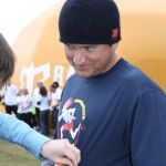 Gene Getting Race # Tagged On By John Arnold (Ragnar Relay TN 2010)