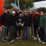 Bumpshack Racing  Star Line Photo - Cold (Ragnar Relay TN 2010)