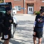 Brandon Piacine and Travis Lampley Discussing the Last Leg (Ragnar Relay TN 2010)