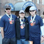 Bumpshack Racing  Finish Line - Estes, Scott Flowers, Joshua Holmes (Ragnar Relay TN 2010)