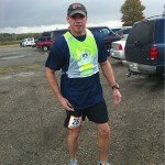 Chris Estes Waiting to Start Van 2 Off (Ragnar Relay TN 2010)