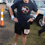 Kirk Catron after finishing his first leg (Ragnar Relay TN 2010)