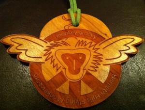 2010 Flying Monkey Finisher's Medal (Harpeth Hills)