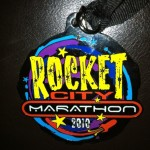 2010 Rocket City Marathon Medal (Front)