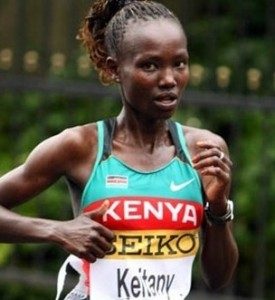 Mary Keitany - World Half Marathon Record Holder