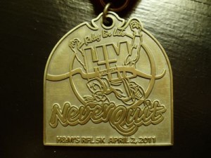 H&M Relay for Life (Run It Fast) 5K Gold Medal