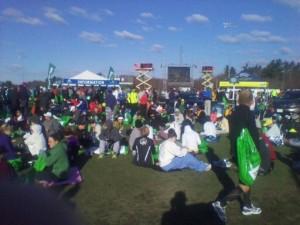 2011 Boston Marathon - Hopkinton