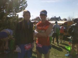 Gary Krugger Before the 2011 Boston Marathon