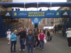 Boston Marathon (2011) Start/Finish Area