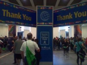 Boston Marathon (2011) Expo - Thank You